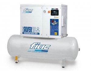 Компрессор NEW SILVER 15/500 винтовой с ресивером 500 л, 1430 л/мин, 10 бар, new-silver-15-500-10b, Fiac