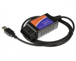 OBD2 ELM327 USB диагностический адаптер