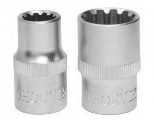 """Головка торцевая 1/2""""DR 10 мм MultiProf, MP01210, Thorvik"""