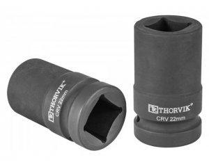 """Головка торцевая 1""""DR 22 мм четырехгранная, LSWS00122, Thorvik"""
