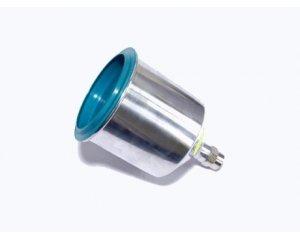 Бачок верхний 0.6 л, алюминий, для краскопульта, AS-0013A2, Jonnesway